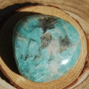Amazonite Polished Pebble - CJF131