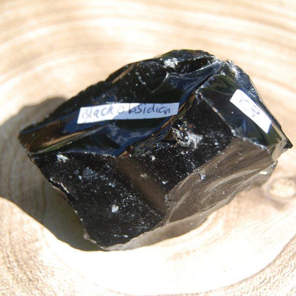 Black Obsidian Rough - CJF116