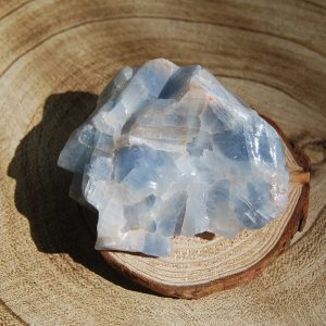Rough Blue Calcite - CJF115