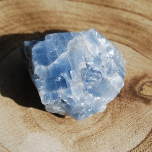 Rough Blue Calcite - CJF153