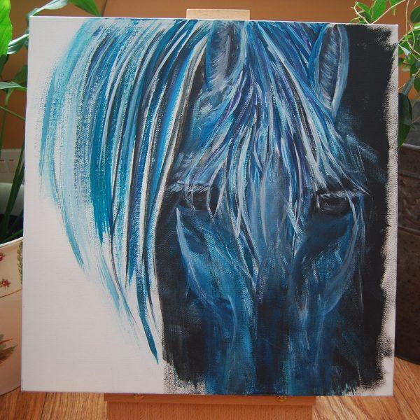 Blue Horse Head - CJF634