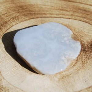 Polished & Rough Blue Lace Agate Slice 4 - CJF161