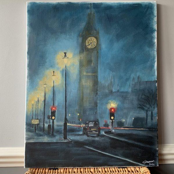 London Westminster Night Scene - CJF1717