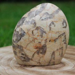 Feldspar & Smokey Quartz Freeform - CJF072