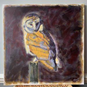 Hunting Owl - CJF1716