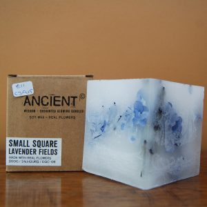 Lavender Fields Square Candle - CJF008