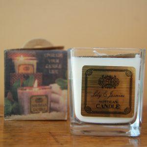 Lily & Jasmine Soybean Jar Candle - CJF007