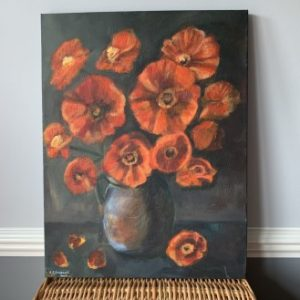 Poppies in Vase - CJF658