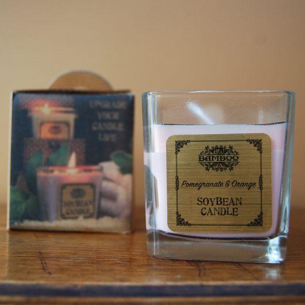 Pomegranite & Orange Soybean Jar Candle - CJF006