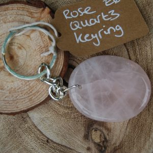 Rose Quartz Keyring - CJF234