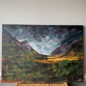 Scottish Highland Scape- CJF684
