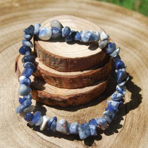 Sodalite Chip Elasticated Bracelet - CJF216