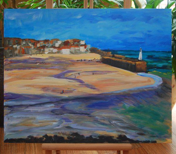 St Ives Cornish Coastscape - CJF615