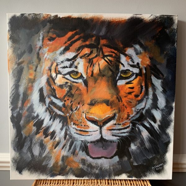 Tiger Head - CJF686
