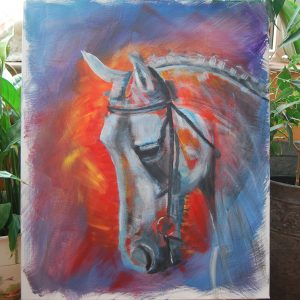 White Horse Head - CJF635