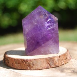 Amethyst Hex Base Point c - CJF791