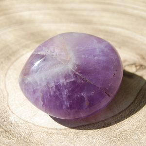 Amethyst Polished Pebble - CJF761