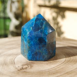 CJF804- Apatite Polished Point a
