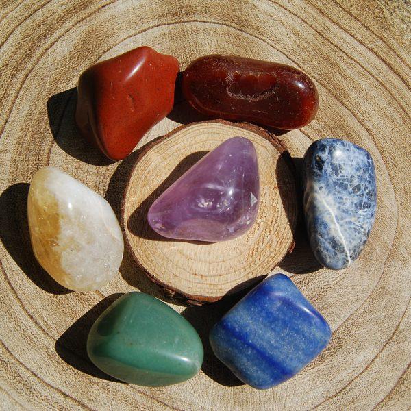 CJF719 -Chakra Tumble Stone Set