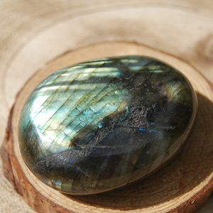 Labradorite Palmstone Pebble - CJF743