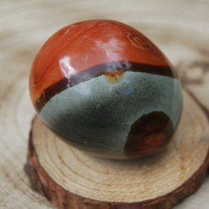 Polychrome Jasper Polished Pebble - CJF756