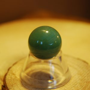Green Aventurine Polished Baby Sphere - CJF919